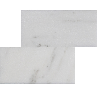 White Jade Marble Tile Polished 3x6