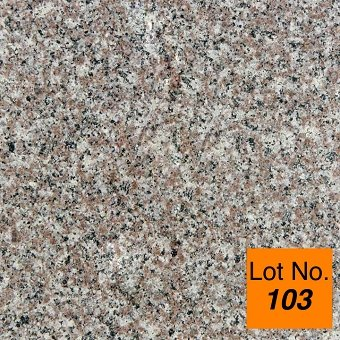 Lot #103: Pallet: Bainbrook Granite Tile 12