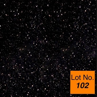 Lot #102: Pallet: Black Galaxy Granite 12x12 Tile: 420 Sq/Ft