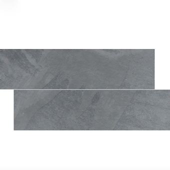 Brazilian Gray Cleft Slate herringbone Tile 6