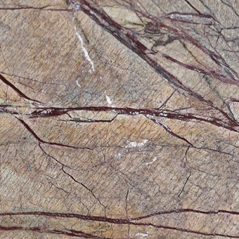 Rain Forest Brown ( Cafe Forest )  Brushed Marble Tile 12