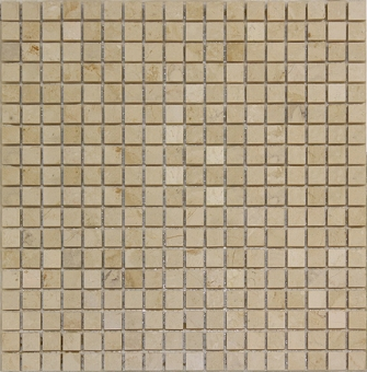 Tropical Cream Mosaic Sheet Marble 12