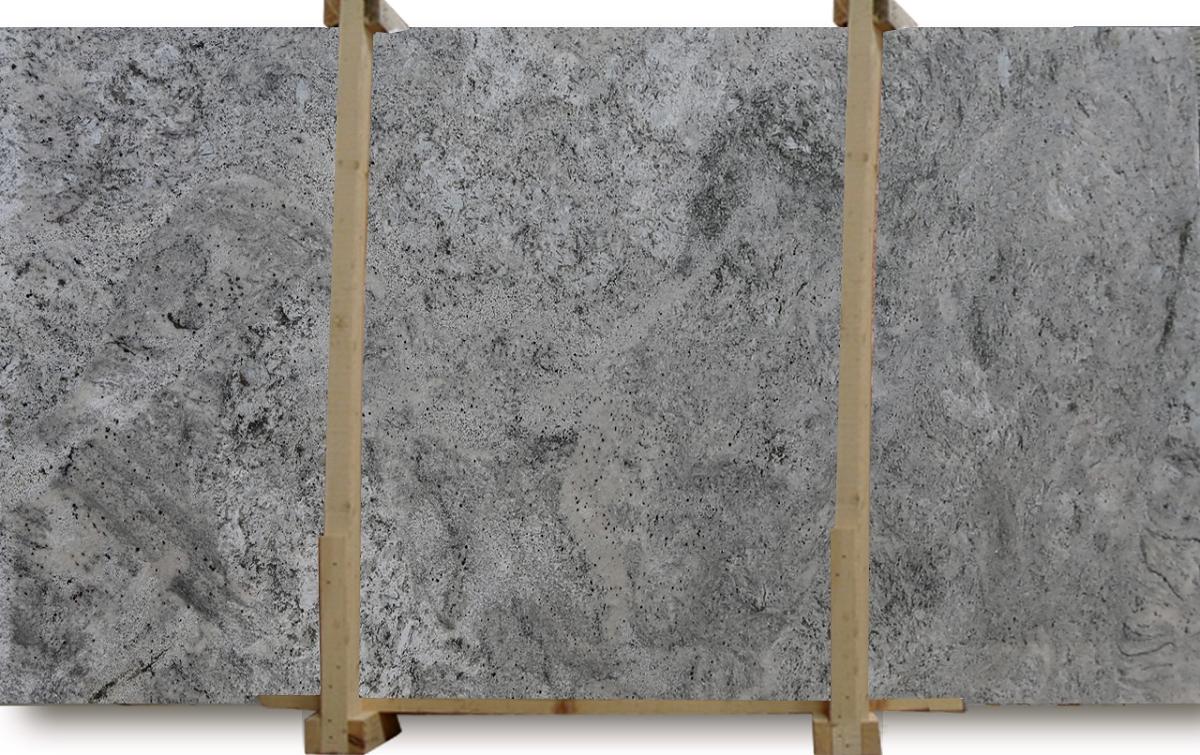 White Bahamas Granite Slab