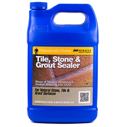 Miracle Sealants Tile Stone and Grout Sealer- Gallon