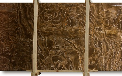 Amazing Brown Marble Slab