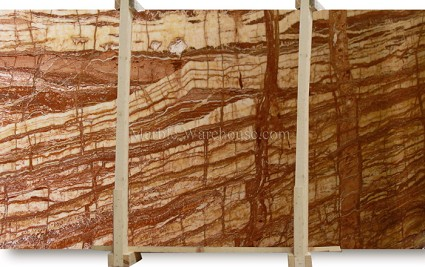 Passion Red Onyx Slab