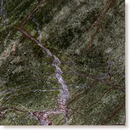 "Rain Forest Green Marble Tile 12""x12"""