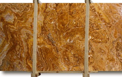 Honey Flow Onyx Slab