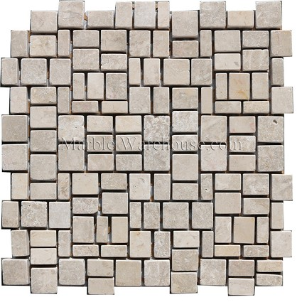 Jerusalem Bone Tumbled Mosaic