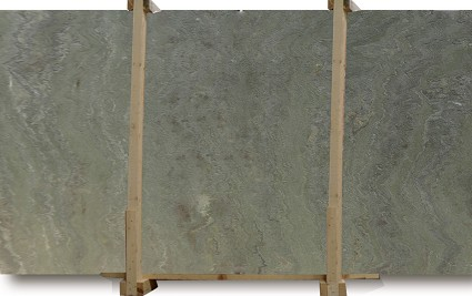 Verde Fantastico Brushed Quartzite Slab