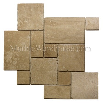 "Travertine Mini Pattern Classic 12""x12"""