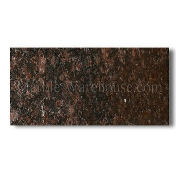Tan Brown Prefab Granite Countertops 110x26