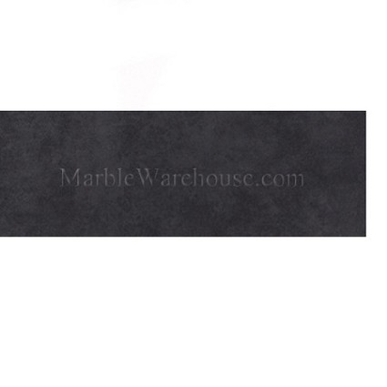 "Graphite Black Amore Porcelain Tile 6""x24''"