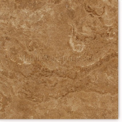 "Walnut Polished Travertine Tile 12""x12"""