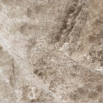 "Original Emperador Light Marble Tile 12""x12"""