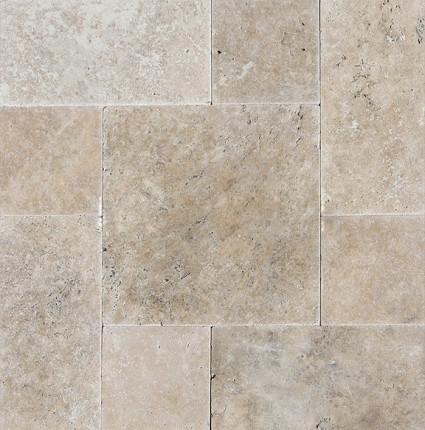 Light Noce Pattern Pavers Travertine