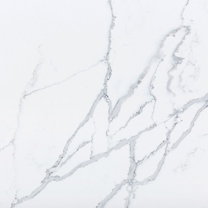 Statuario Bianco Quartz Slab