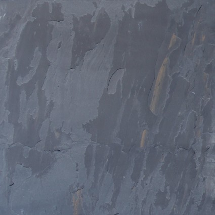 "Black Rustic Cleft Gauged Slate Tile 18""x18"""