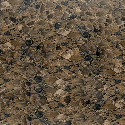 Terra Brown Quartz Slab