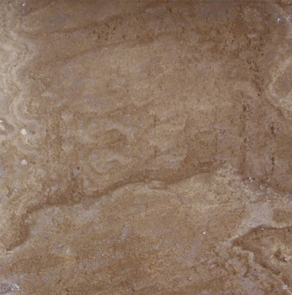 "English Walnut Honed Travertine Tile 16""x16"""