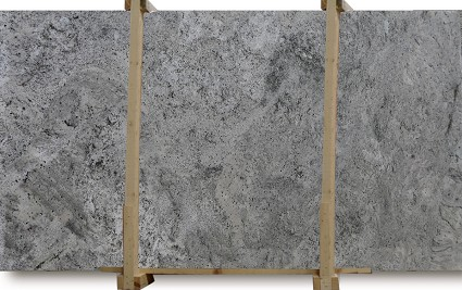White Bahamas Granite Slab